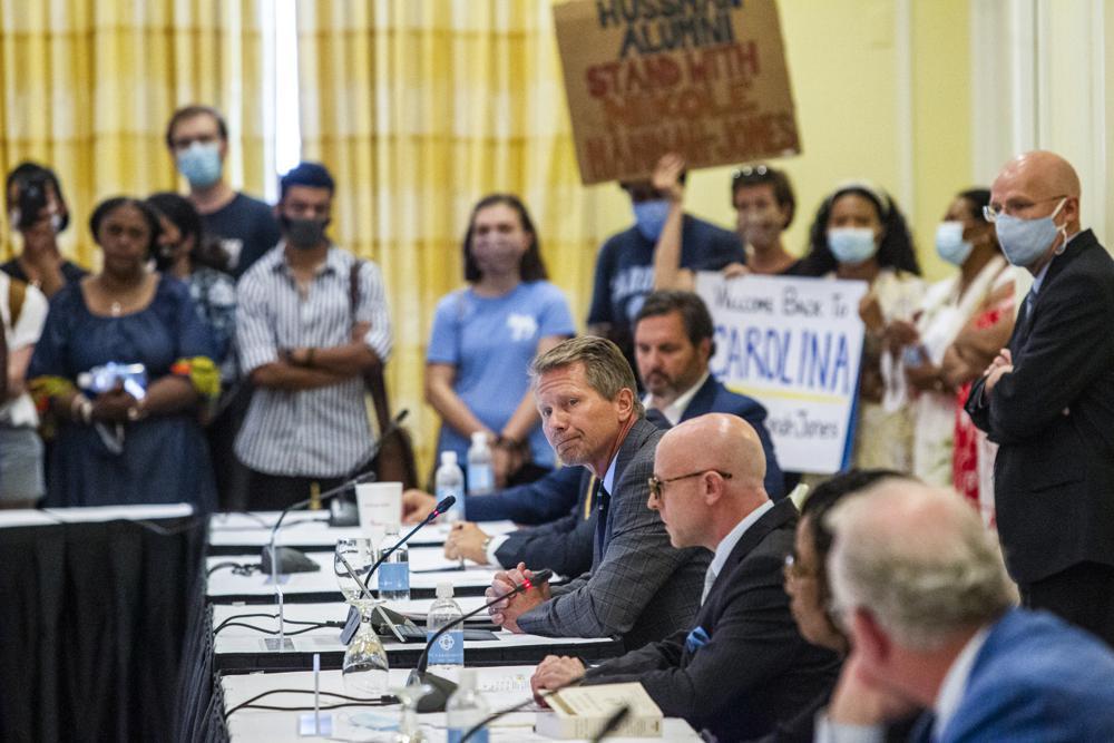 Amid protests UNC trustees OK tenure for '1619 Project' creator Nikole Hannah-Jones