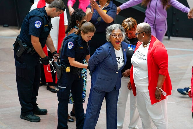 CBC Chair Rep. Joyce Beatty, Black women protesters arrested by Capitol Police