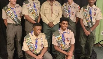 Wheeler Ave Boy Scout Troop 242 welcomes 8 new Eagle Scouts