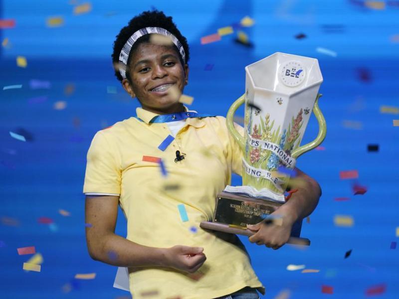 African American spelling bee champ Zaila Avant-garde makes history