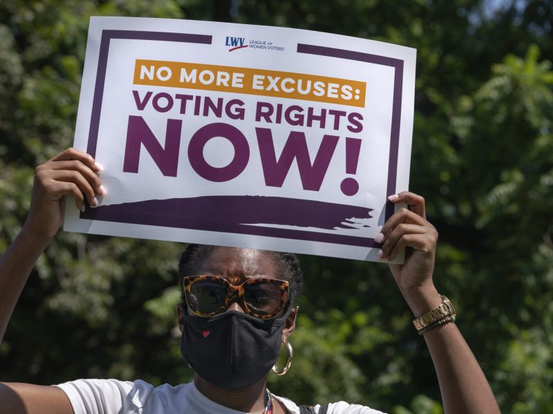 Federal voting rights bill to override Texas restrictions blocked by GOP