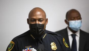 2 arrested in fatal shooting of New Orleans officer in Houston