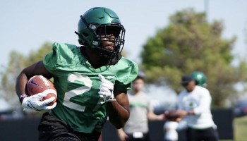 RB Keith 'BK' Jackson takes talents from Ridge Point HS to North Texas