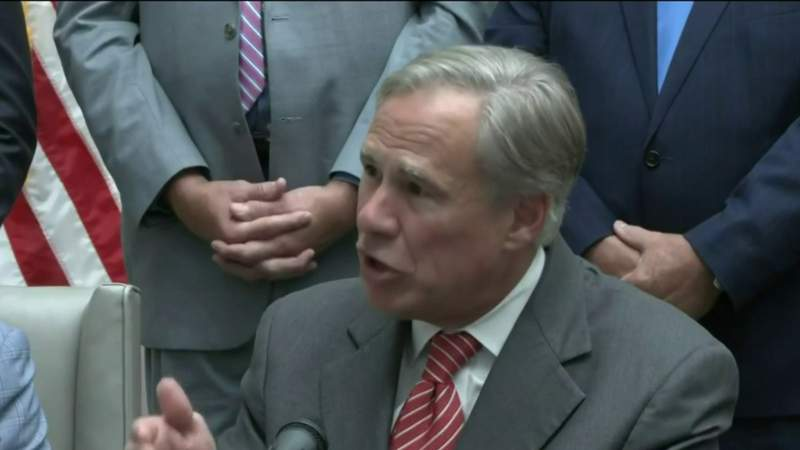 Gov. Abbott defends TX abortion law with BS pledge to eliminate rape