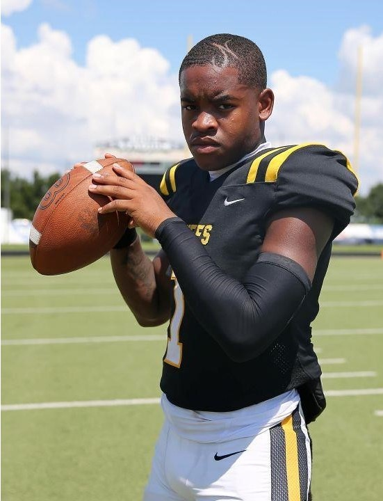 Ft. Bend Marshall QB/ATH Ja'Koby Banks is instant offense