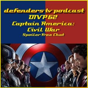 DTVP62 Captain America Civil War Spoiler Free Review