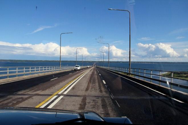 bridge crossing to Öland