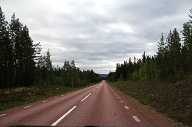 on the way to Mora