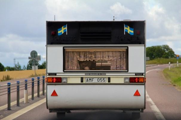 Happy swedish camper