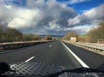 Driving to Luxmemburg