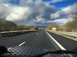 Driving to Luxmemburg