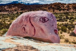 Painted Rocks near Tafroute