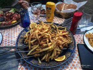 Last dinner in Zagora