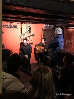 Flamenco night in Tarifa
