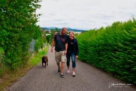 Talking a walk with Gordon