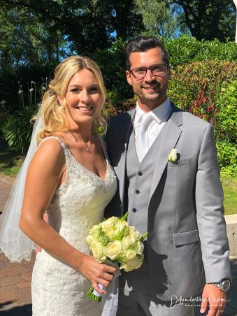 The bride and bridegroom