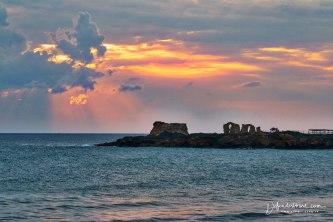 Sunset in Punta Braccetto