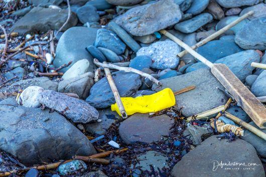 Plastic Garbage at Analoukas Beach
