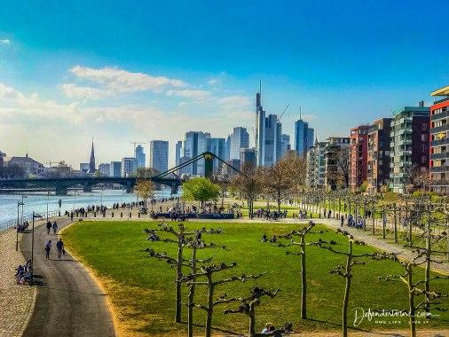 Arriving in Frankfurt