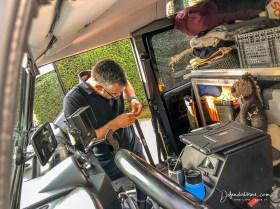 Mounting preparation