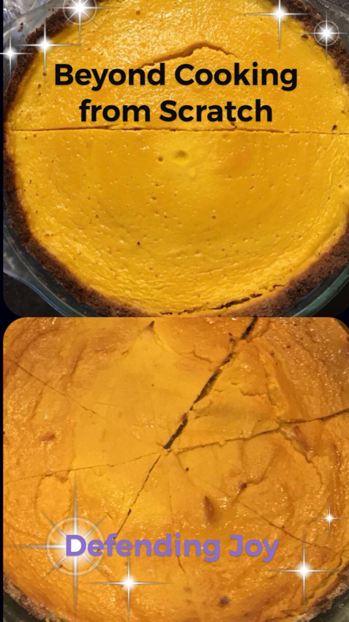 Picture of 2 pumpkin pies