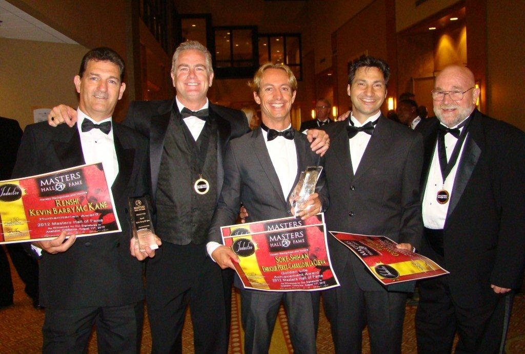 Master's Hall of Fame 2012