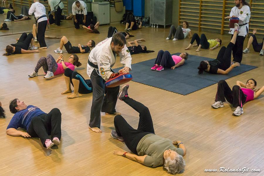 Yawara-Jitsu > Defensa personal para la tercera edad