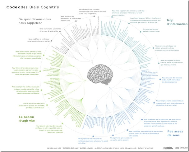Pirater Cerveau - Codex des biais cognitifs - John Manoogian III (jm3)