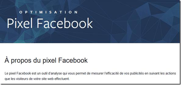 Proteger donnees personnelles - Pixel-Facebook