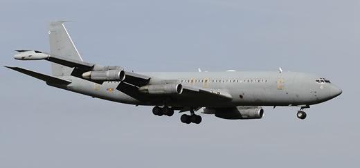 Spanish Air Force Boeing 707 aerial tanker