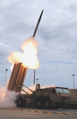 Missile Defense Agency Awards +$700 million to equip two THAAD Missile Interceptor batteries.