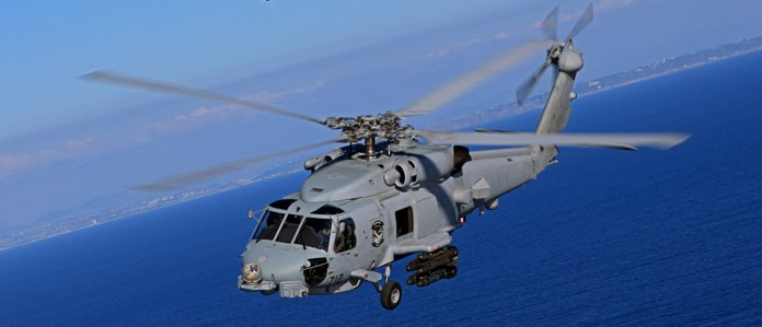 Lockheed Martin expects to deliver the first two completed MH-60R aircraft of an eventual 24 to the Australian Navy in the first quarter of 2014. Photo: Lockheed Martin