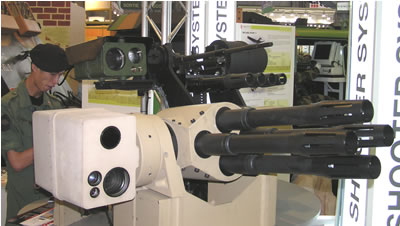 Remotely Controlled Weapon Stations At The 2006 Eurosatory