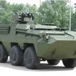 Elbit Systems ORCWS mounted the Austrian Pandur 6x6 built by Styer.