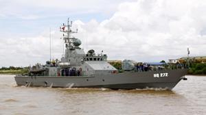 Vietnamese Navy new gunboat TT400TP