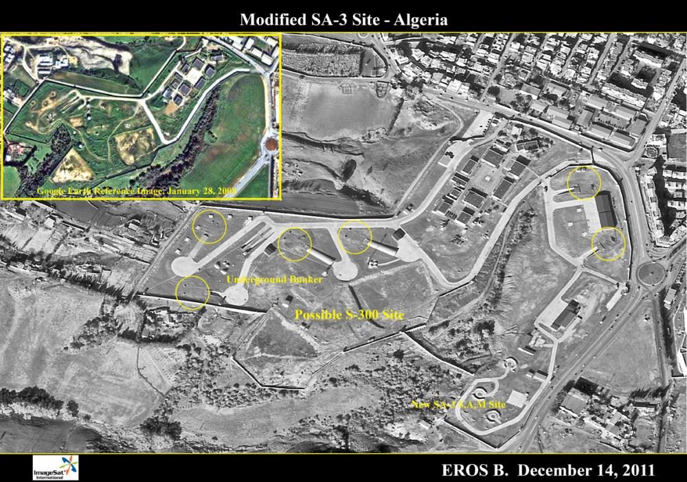 Argelia despliega su S-300PMU2