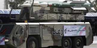 The Raad air defense missile comprises of the Taer air defense missiles