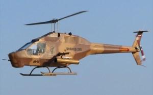 Shahed 285 displayed at the Kish Island Airshow in 2010. Raza Rahman