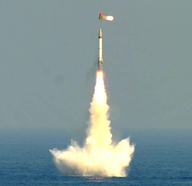 india�s k15 sagarika submarine launched ballistic missile