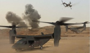 Bell and Boeing also considered to offer a tilt-rotor  design for the JMR Phase 1, based on their long cooperation on the US Navy/Air Force V-22 Osprey program.