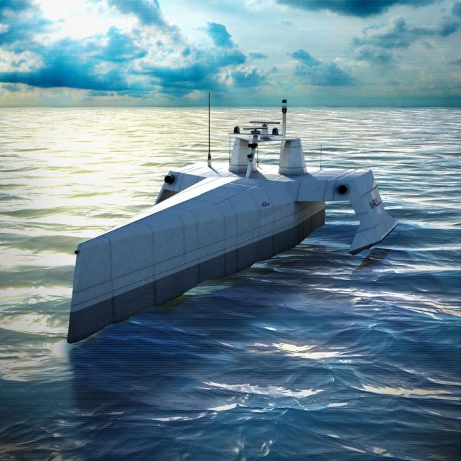 SAIC Concept for the ACTUV was selected by DARPA for the autonomous ASW demonstration program.