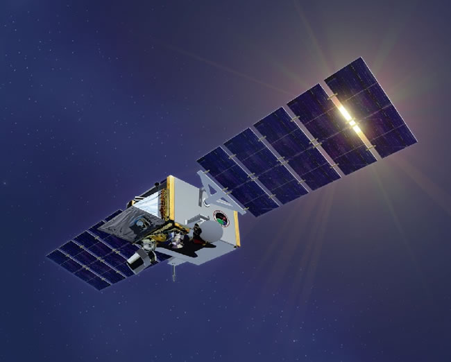 Space Tracking and Surveillance System-Demonstrator (STSS-D) satellites