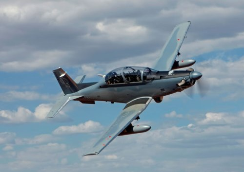 Beechcraft Corp. AT-6. Photo: Beechcraft Corp.