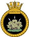 HMS Ambush Insignia