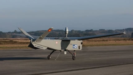 Atlante UAS Takes off on its first flight, February 28, 2013