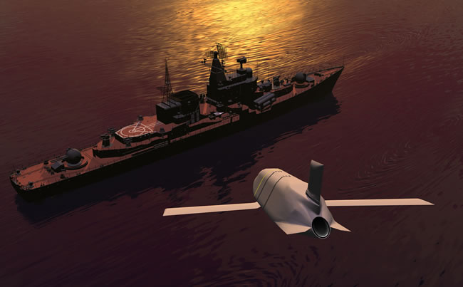 The Joint Air-to-Surface Standoff Missile – Extended Range (JASSM-ER) platform will demonstrate the stealthy air-launched 'LRASM-A' variant. Concept image: Lockheed Martin