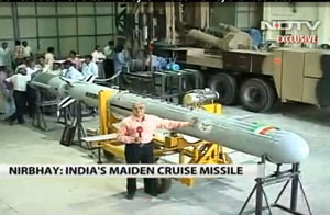 Watch the NDTV news item on Nirbhay in video. C