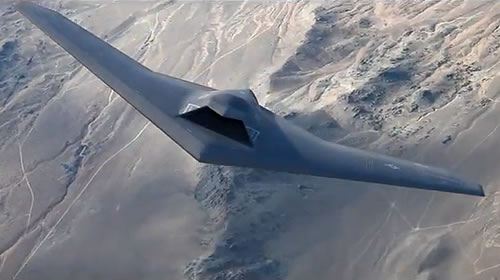 A forward view of the UCLASS concept design by Lockheed Martin's Skunk Works.