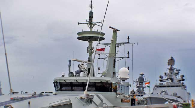 The bridge of HMAS Armidale class Patrol Craft HMAS Bathurst