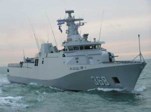 Another vessel visiting Singapore for IMDEX is KRI Frans Kaisiepo, the new SIGMA Class missile corvette built by the Dutch Schelde shipyard for the Indonesian Navy. The vessel was delivered in 2009.